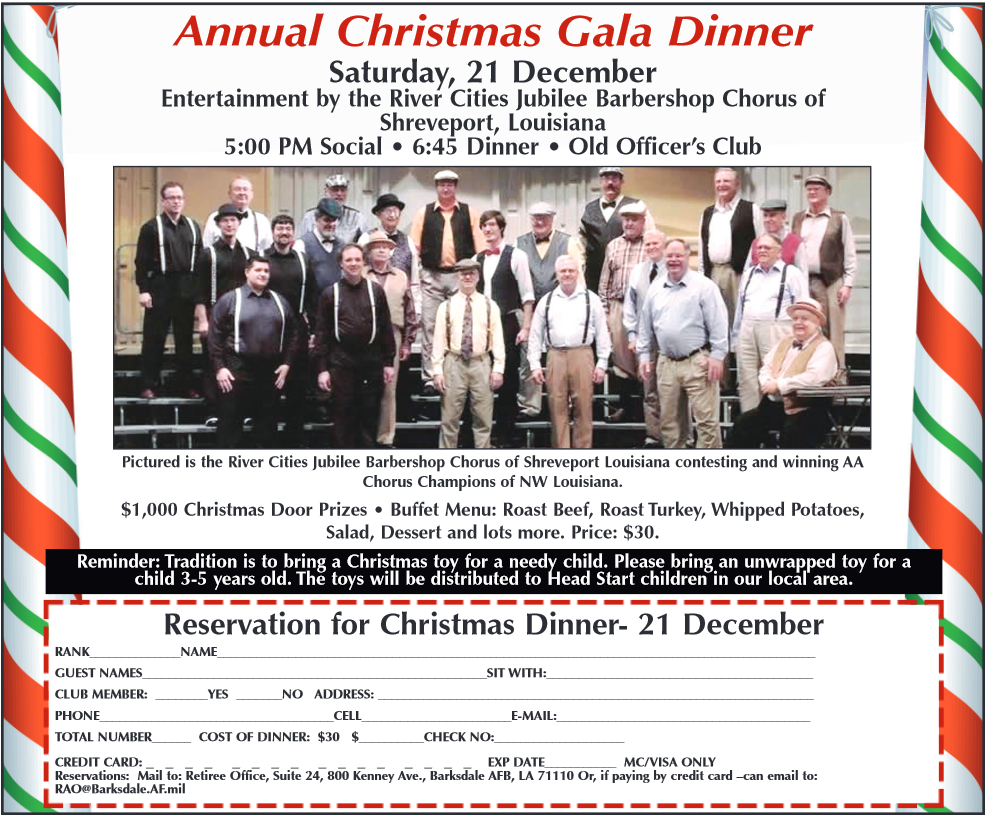 ArkLaTex Chapter Christmas Party Information